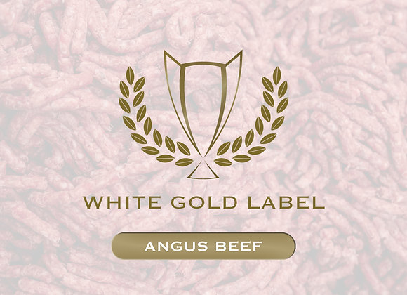 Ground Angus Beef White Gold Label