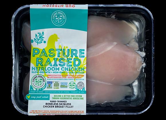 Chicken Breast Boneless Skinless Heirloom Cooks Venture