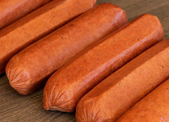 Grass Fed Beef 1/4lb Hot Dogs