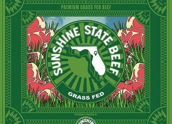 8oz Grass Fed Hanger Steak Sunshine State