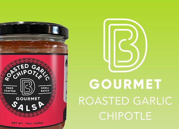 DB Gourmet Salsa, Roasted Garlic Chipotle