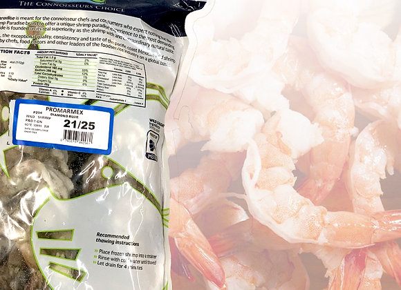 Shrimp 21/25, Frozen Retail
