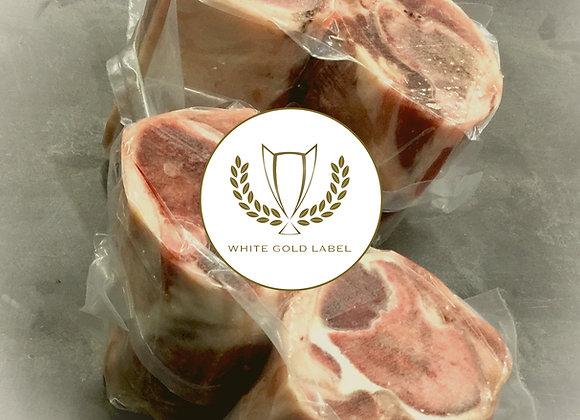 16oz Heritage Pork Osso Bucco White Gold Label