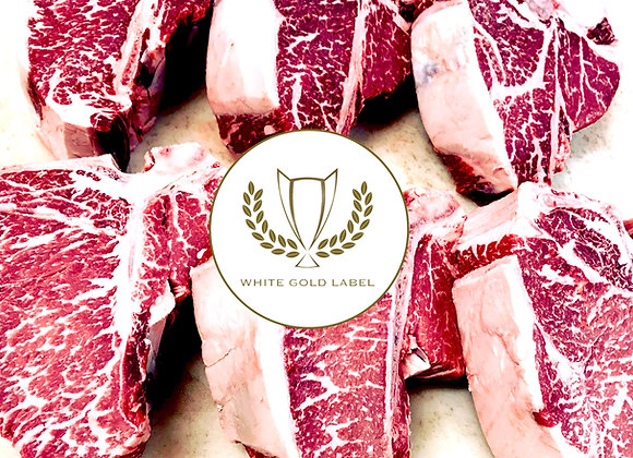 32oz Porterhouse, Prime White Gold Label