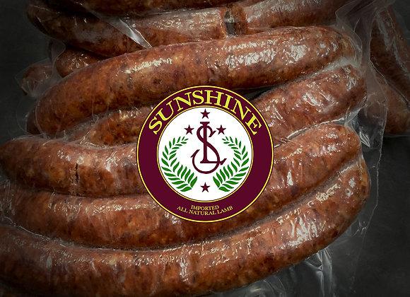 Lamb Merguez Sausage Links Murvest