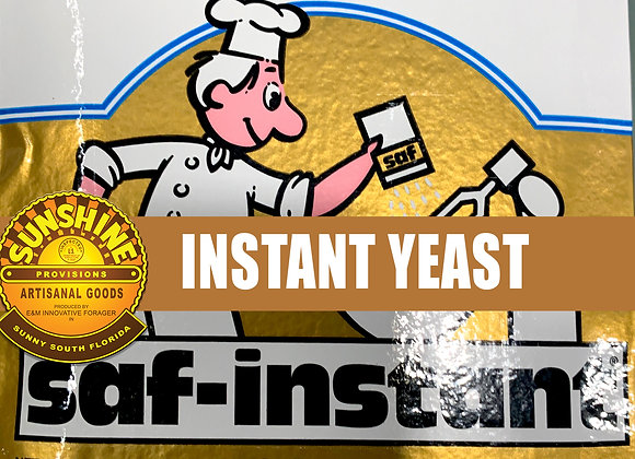 Instant Active Yeast Chefs Pantry