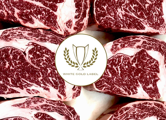 14oz Angus Ribeye, Boneless White Gold Label