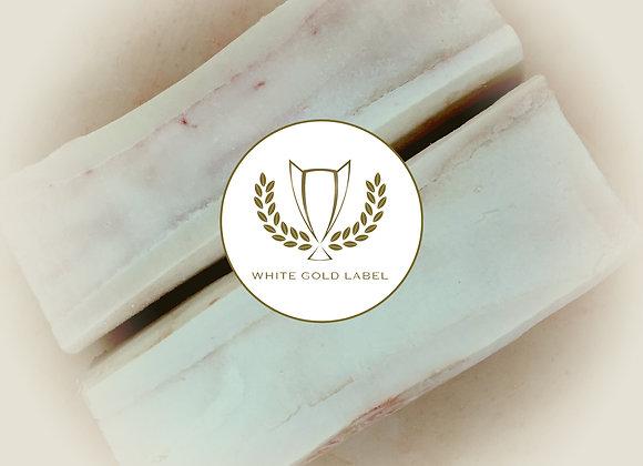 Beef Marrow Bones, Split White Gold Label