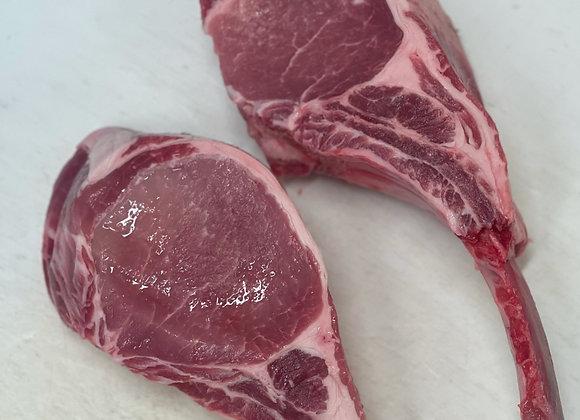 16oz Tomahawk Heritage Pork Chop