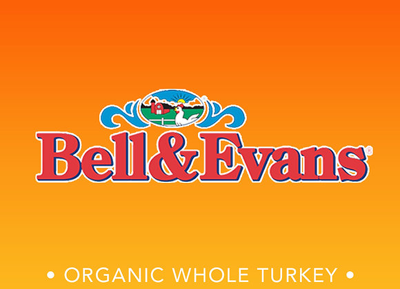 Bell & Evans Organic Whole Turkey 14 - 16lbs
