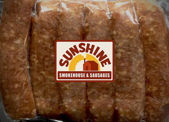 Pork Andouille Sausage White Gold Label