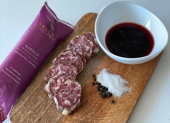 Pork Barolo Salami Salumi Chicago