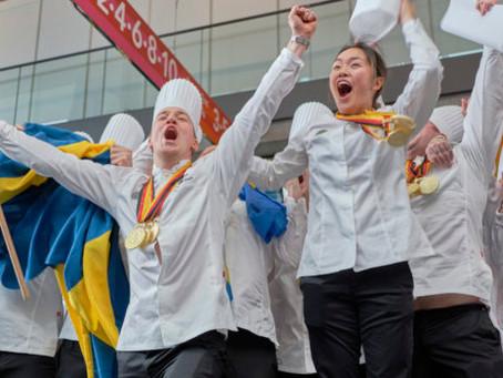 Svenska Juniorkocklandslaget guldmedaljörer i Culinary Olympics 2020