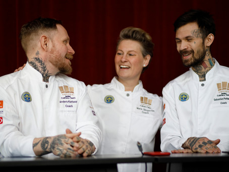 Två historiska kocklandslag ska försvara guld i Culinary World Cup 2022 och Culinary Olympics 2024