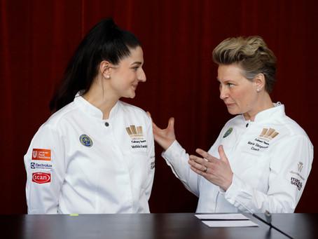 Marie Skogström och Matilda Ewaldh i TV4