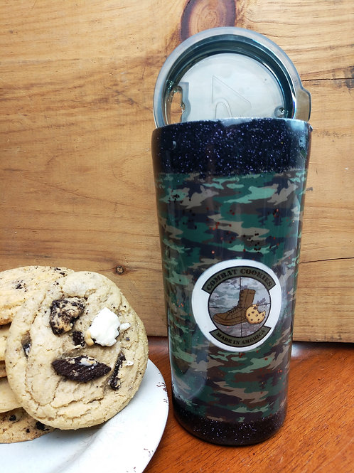 Combat Cookies Tumbler