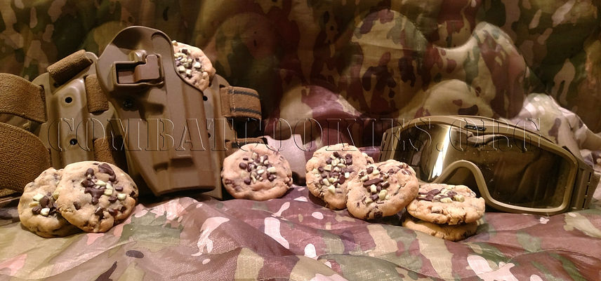 Mad Dog Mint Chip Cookie, military, nonprofit, cookie, homemade, care package