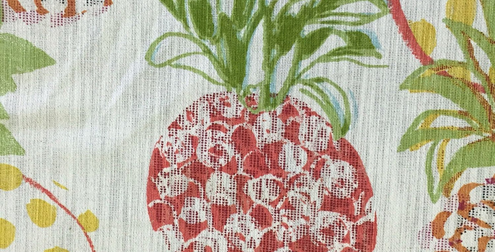 Pineapple Red Fabric