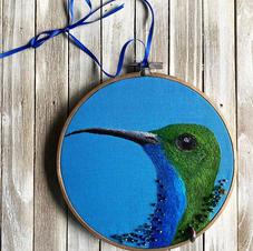 The Happy Hummingbird
