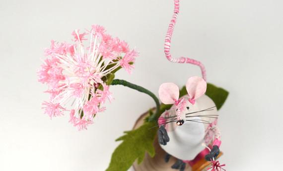 Fairy Clock pink