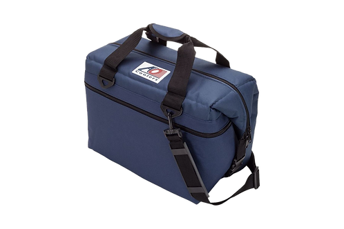 24 Pack Canvas Cooler (Navy Blue)
