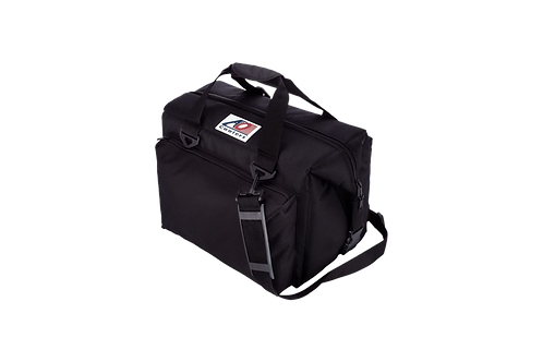 24 Pack Deluxe Canvas Cooler (Black)