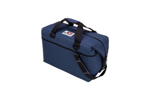 36 Pack Canvas Cooler (Navy Blue)