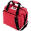 Thumbnail: 12 Pack Deluxe Canvas Cooler (Red)