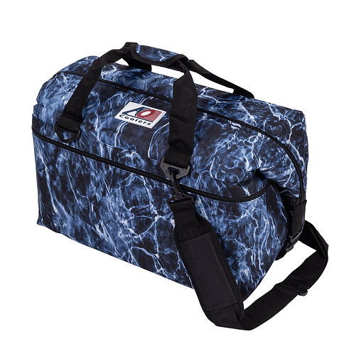 48 Pack Mossy Oak Fishing Bluefin Cooler