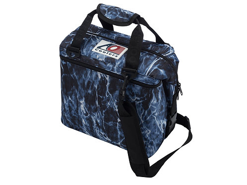 12 Pack Mossy Oak Fishing Bluefin Cooler