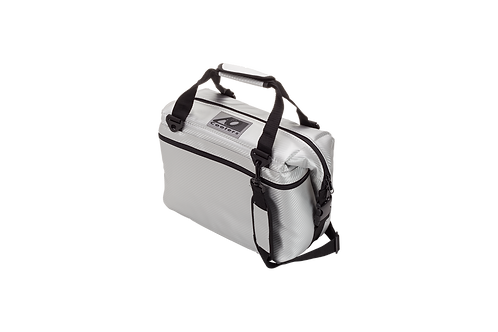 12 Pack Carbon Cooler (Silver)