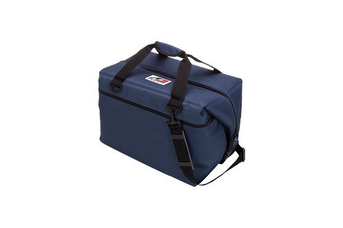 48 Pack Canvas Cooler (Navy Blue)