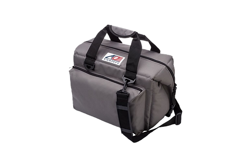 24 Pack Deluxe Canvas Cooler (Charcoal))