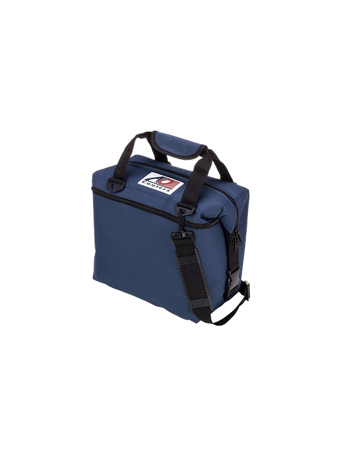 12 Pack Canvas Cooler (Navy Blue)