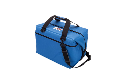 48 Pack Canvas Cooler (Royal Blue)