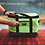Thumbnail: AO Collapsible Basket - Lime Green