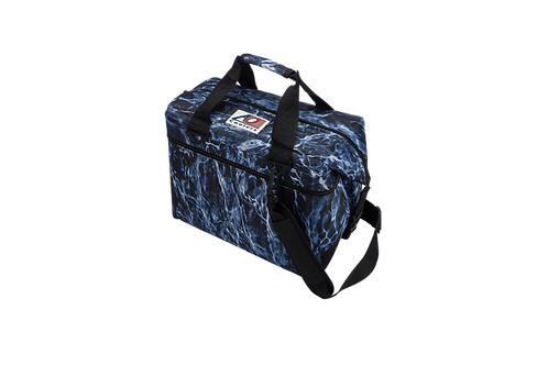 24 Pack Mossy Oak Fishing Bluefin Cooler
