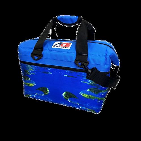 24 Pack Canvas Cooler (Dorado)