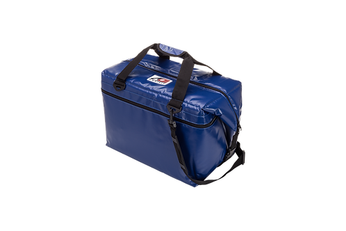 48 Pack Vinyl Cooler (Royal Blue)