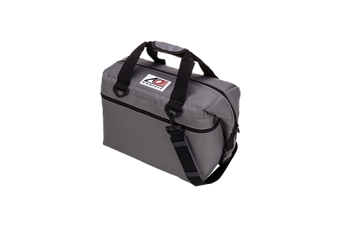 24 Pack Canvas Cooler (Charcoal)