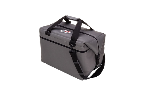 48 Pack Canvas Cooler (Charcoal)