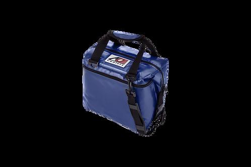 12 Pack Vinyl Cooler (Royal Blue)
