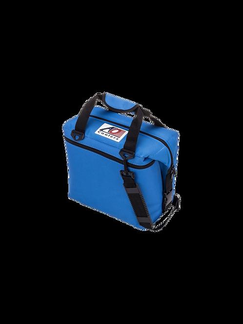 12 Pack Canvas Cooler (Royal Blue)