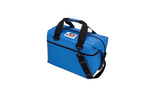 24 Pack Canvas Cooler (Royal Blue)
