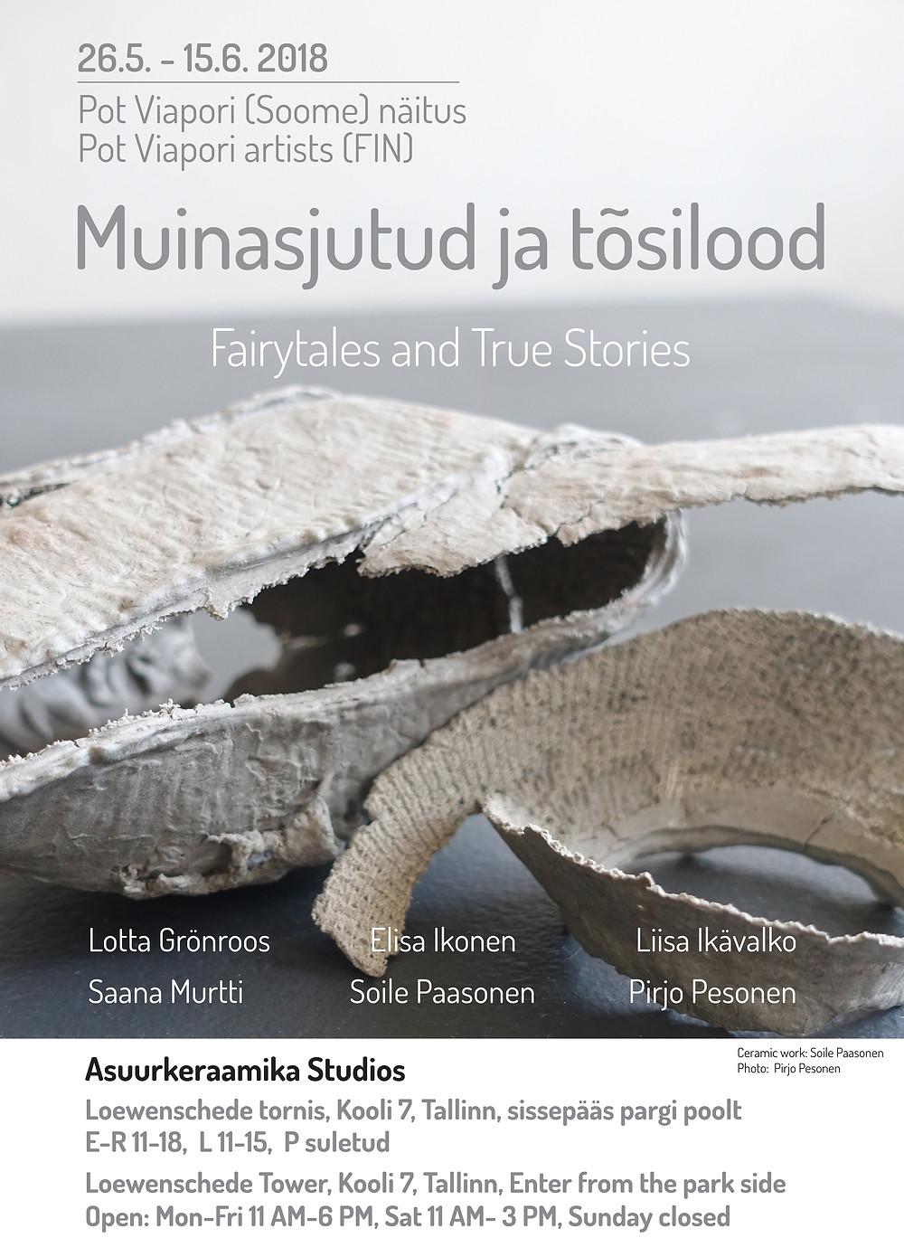 Exhibition in Asuurkeraamika Tallinn Estonia