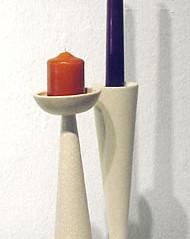 Turnable candleholders