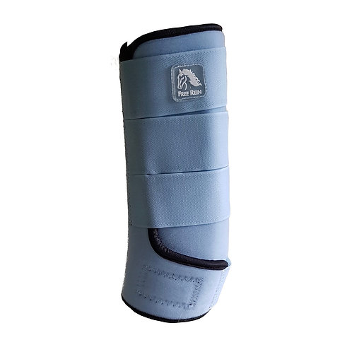 Sky Blue Free Rein Support Wraps