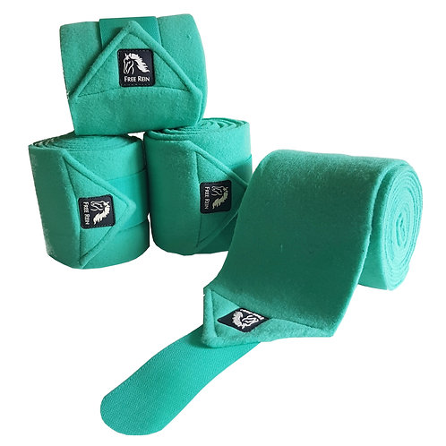 Peppermint Free Rein Fleece Bandages