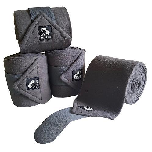Graphite Free Rein Fleece Bandages