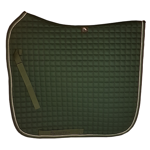 Emerald Free Rein Dressage Saddle Pad